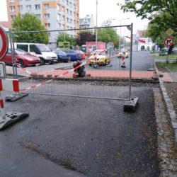 Rekonstrukce ul. Mánesova, Ostrava - Přívoz
