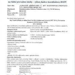 Referenční list MMO_investice, 2016_Křižovatka_BOZP